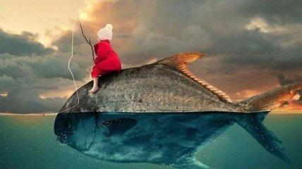 Сказочные сны в шедеврах цифрового искусства от румынского фотографа (Фото)