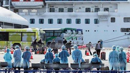Украинка с круизного лайнера Diamond Princess вылечилась от коронавируса