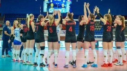 Золотая Евролига: украинские волейболистки уступили Словакии