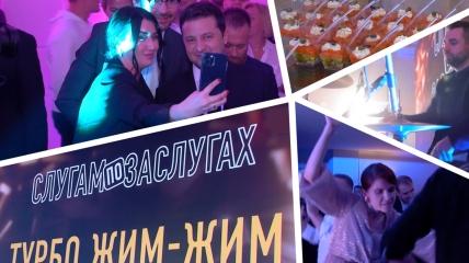 """Зеленский с удовольствием пообщался с ведущей """"Світського життя"""""""