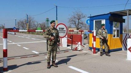 На границе с Крымом остановлена работа двух КПВВ