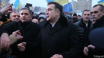 """Саакашвили: хочу стать на колени перед """"Небесной сотней"""" Майдана"""