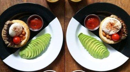 Симметричные завтраки перфекциониста (Фото)