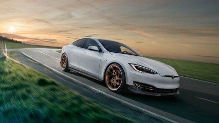 Тюнеры из Novitec добавили агрессии электрокару Tesla Model S