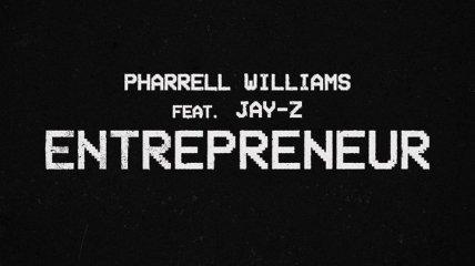 Воспели темнокожих: Фаррелл Уильямс и Jay-Z записали совместный трек Entrepreneur (Видео)