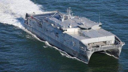 США наращивают силы в Черном море: USNS Yuma уже в Босфоре