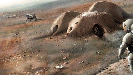 Ученые создали уникальный марсианский бетон