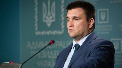 Климкин заявил, что в деле моряков у Зеленского попались на ловушку РФ