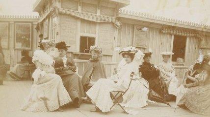 Французская мода 1909 года (Фотогалерея)