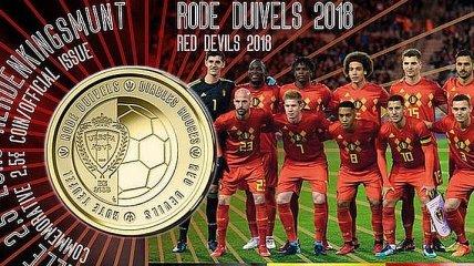 Перед ЧМ-2018 в честь одной сборной выпустили монету в 2,5 евро