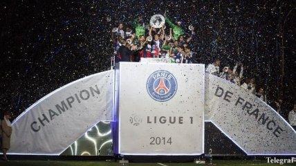 Лига 1. ПСЖ празднует чемпионство