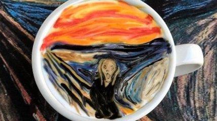 Впечатляющий латте-арт от корейского бариста (Фото)