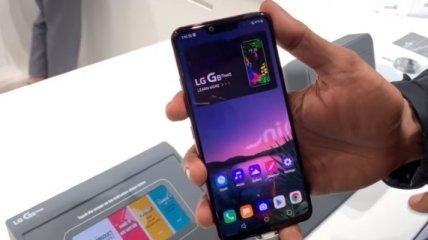 LG озвучила стоимость нового флагманского смартфона G8 ThinQ