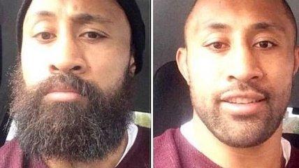 Брутальность: как выглядят мужчины с бородой и без (Фото)