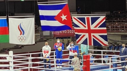 Бокс на Олимпиаде: определен чемпион в полутяжелом весе
