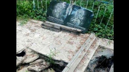 З трупним смородом по сусідству: жителі Дніпра страждають через розмите кладовище (фото, відео)