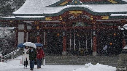9 человек стали жертвами снегопадов в Японии