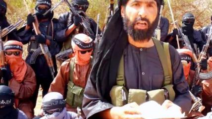 Одно из немногих достоверных фото лидера ИГИЛ в Сахаре.