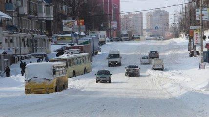 В Киеве на Рождество объявлено штормовое предупреждение
