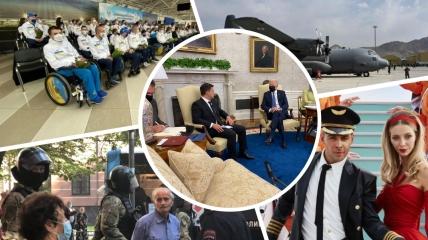 Главные события недели: встреча Зеленского и Байдена, США покинули Афганистан, новые притеснения крымских татар