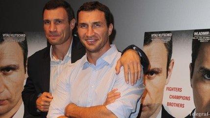 Братья Кличко получат медали престижного турнира по бодибилдингу
