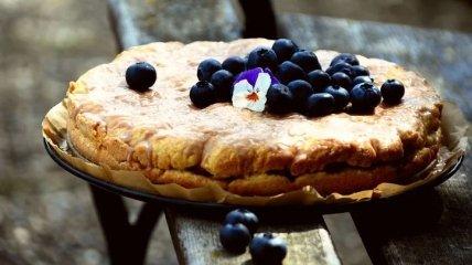 Как приготовить вкусный и ароматный черничный пирог: рецепт от Эктора Хименес-Браво