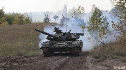 Боевики обстреляли позиции сил АТО из танка