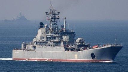 Около водных границ Латвии замечены корабли ВС РФ