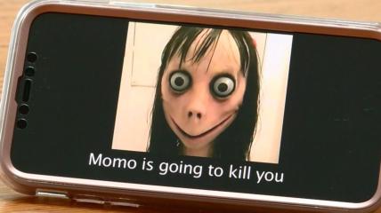 Момо - опасная игра