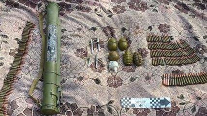 На Днепропетровщине найден схрон с боеприпасами