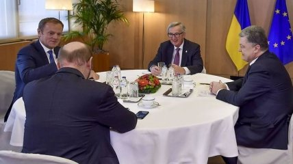 Саммит в Брюсселе: Порошенко провел переговоры с лидерами ЕС