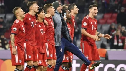 Бавария 5:1 Бенфика: видео голов и обзор матча Лиги чемпионов