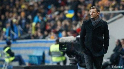 Шевченко: Все решится в последнем туре