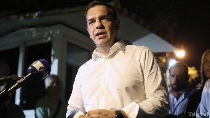Пожары в Греции: Ципрас взял на себя политическую ответственность