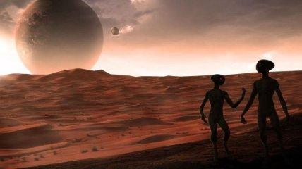 Знакомство с инопланетянами (Фото)