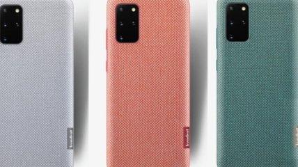Samsung представила изготовленный из мусора чехол для смартфона (Фото)