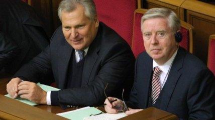 Кокс и Квасьневский посетят Тимошенко завтра