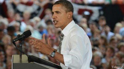 Обама произнесет речь на стадионе, вмещающем 74 тысячи зрителей