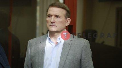 Виктор Медведчук на заседании суда