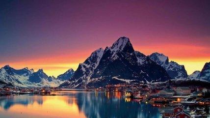 Впечатляющие пейзажи Норвегии (Фото)