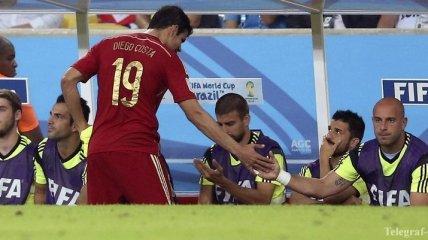 Диего Коста: Поздравляю сборную Чили