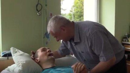 В Польше ищут клинику для лечения Героя Украины Петраковского (Видео)