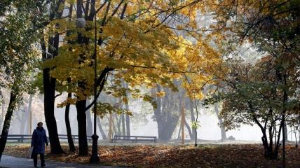 Октябрьские утра будут встречать украинцев туманами