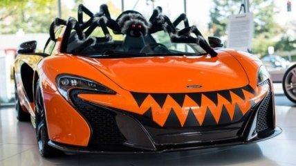 McLaren 570S Spider готов к Хэллоуину