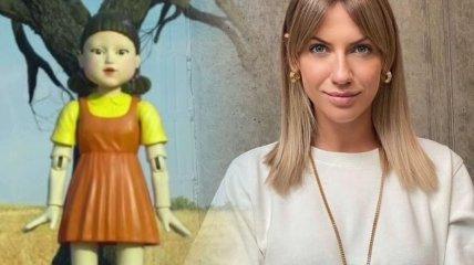 """Леся Никитюк """"превратилась"""" в куклу-убийцу"""