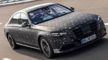 Mercedes-Benz рассекретила салон S-Class 2021 (Фото)