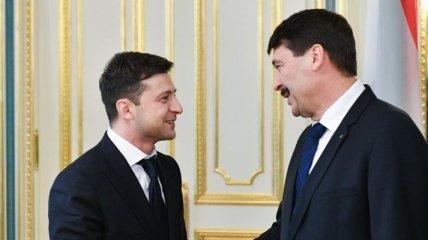 Зеленский выразил надежду, что Венгрия возобновит поддержку Украины на пути в ЕС и НАТО