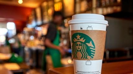 В Умани появился странный Starbucks