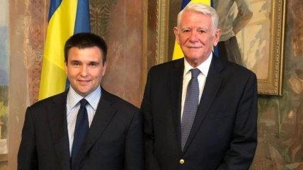 Климкин о ситуации в Молдове: Очень рад, что Майя Санду возглавила правительство