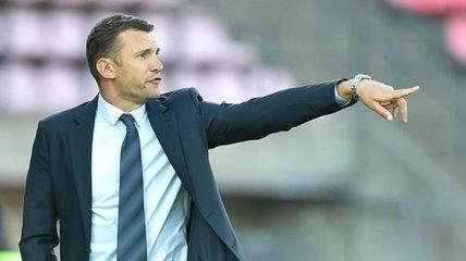 Шевченко: Не могу ничего плохого сказать против своей команды